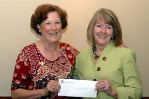 Barbara Jewell and Kathy Chiverton